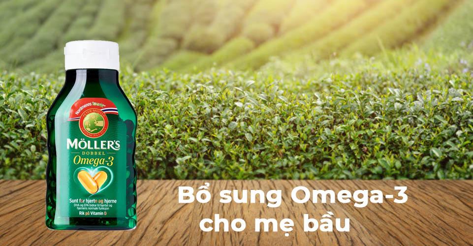 Nên bổ sung Omega-3 cho mẹ bầu vào thời điểm nào?