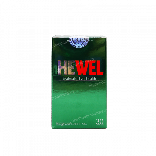 Ecogreen - Hewel - Giải độc, bảo vệ gan