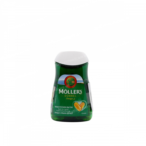 Moller's Dobbel - Viên uống bổ sung Omega-3