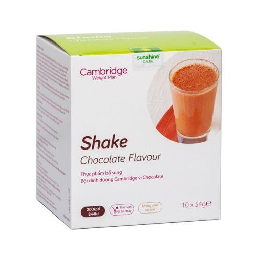 Thực phẩm giảm cân Cambridge hương vị Chocolate